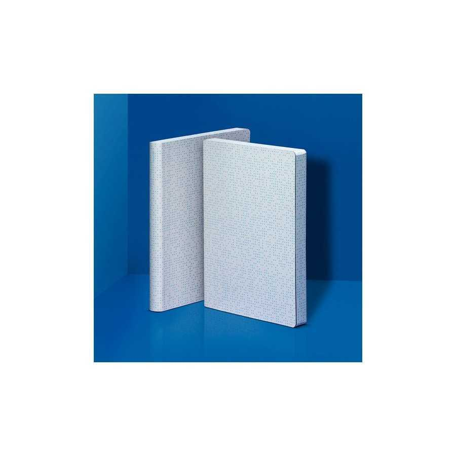 Nuuna exklusiv skrivbok anteckningsbok - GRAPHIC GLOW L - GLOWING PIXELS - GLOW