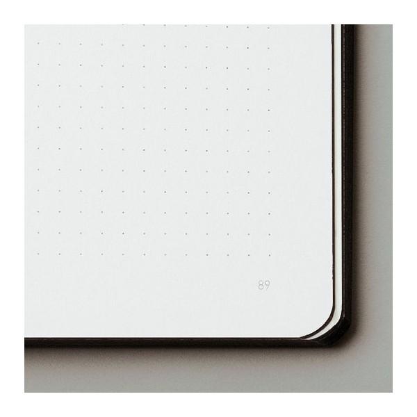 Nuuna exklusiv skrivbok anteckningsbok - GRAPHIC TRAVELLER LT - NIGHTFLIGHT OVER NYC COPPER