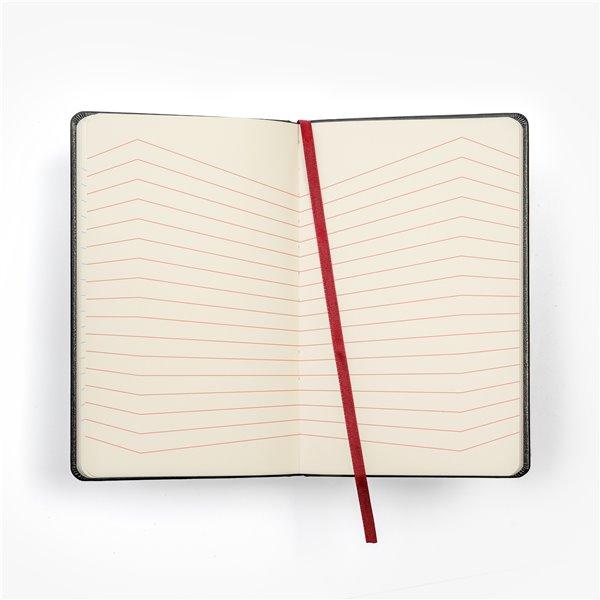 Inlaga/refill till tredelad kalender äkta skinn - kontaktbok med filkar