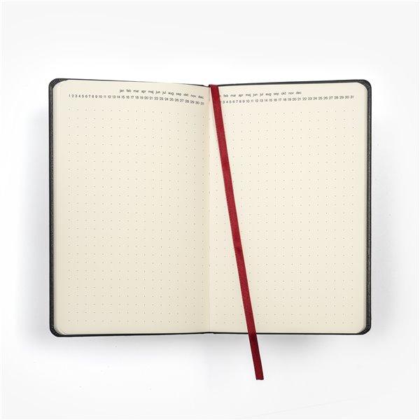 Brun struktur på kalendern mer-kalendern