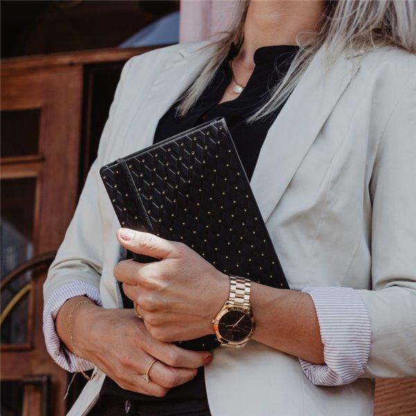 Inlaga/refill till tredelad kalender äkta skinn - inlaga, Skatt & Redovisning, kontaktbok, årsplan, post-IT