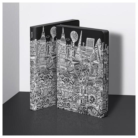 Nuuna exklusiv skrivbok anteckningsbok - GRAPHIC L - LONDON