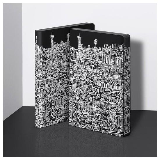 Nuuna exklusiv skrivbok anteckningsbok - GRAPHIC L - PARIS