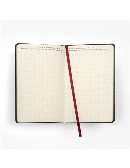 Nuuna exklusiv skrivbok anteckningsbok - GRAPHIC L - EVERYTHING STARTS FROM A DOT