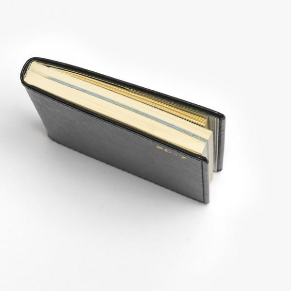 Klassisk fickkalender 2021 - konstskinn - smidig storlek - exklusivt papper