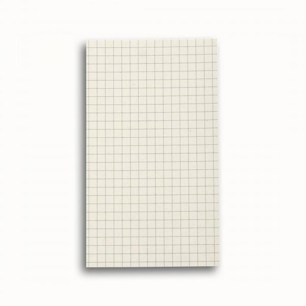 Tredelad fickkalender 2021 - spriralbunden - äkta skinn - extra block för anteckningar - PostIT