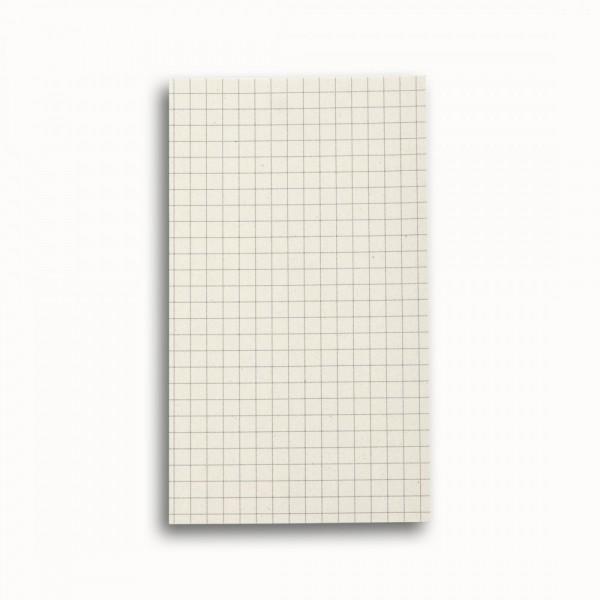 Tredelad fickkalender 2022 - spiralbunden - äkta skinn - extra block för anteckningar - PostIT